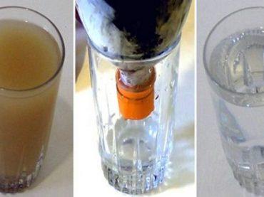 Filtro de Agua Casero