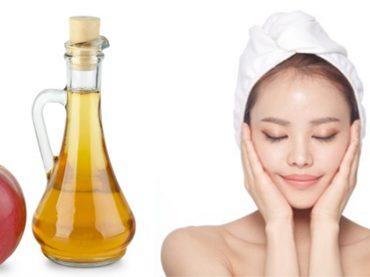 Eliminar problemas de la piel con vinagre