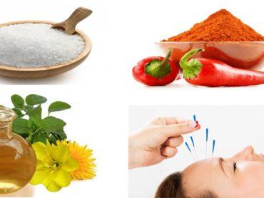 Analgésicos naturales para aliviar el dolor
