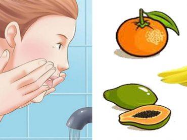 Rejuvenecer el rostro con estas frutas