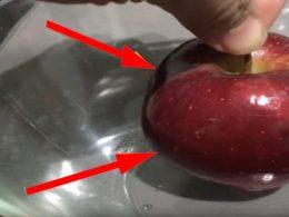 Beneficios de una manzana hervida con estómago vacío