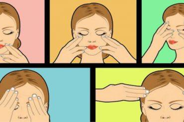Estimular el organismo masajeando la cara