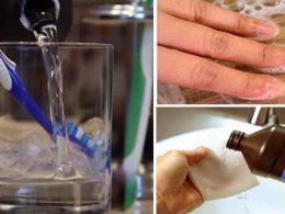 Otros usos del agua oxigenada