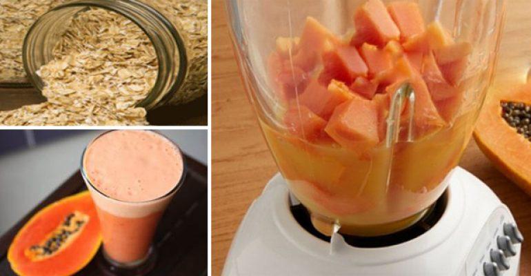 Bajar de peso con avena y papaya
