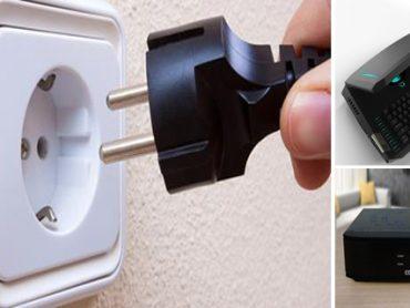 Aparatos eléctricos que gastan energía aún apagados