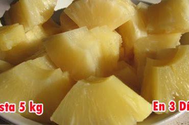 Dieta de la piña para perder hasta 5 kilos en 3 días