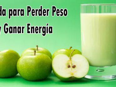 Receta para perder peso y ganar energía