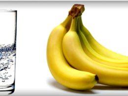 Bebida con plátano para perder peso