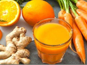 Jugo de zanahoria para alargar la vida