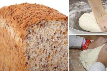 Receta para preparar pan sin harina