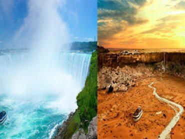 Así Quedarían los Principales Monumentos del Mundo Ante una Gran Sequía