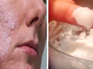 Rostro Joven y Sin Arrugas Usando Bicarbonato