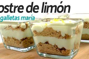 Cómo Preparar un Delicioso Postre de Limón con Galletas María en Minutos y Sin Utilizar el Horno