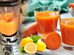 Cómo Preparar Zumo de Zanahoria con Limón para Expulsar Grasa de Piernas , Vientre y Brazos