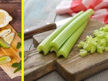Combina Apio y Limón para Controlar Diabetes y No Enfermar