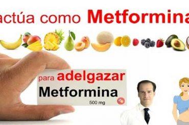 Esta fruta actúa como Metformina para Adelgazar