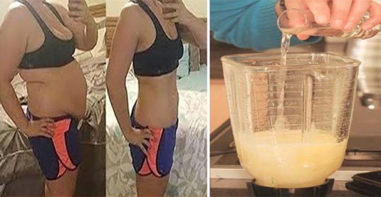 Si bebes esto durante 3 días , la gordura de su barriga se derretirá como una paleta