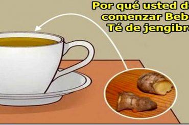 Un Delicioso y Medicinal Té de Jengibre es la Mejor Forma de Empezar el Día