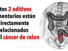 2 Aditivos Alimentarios que Normalmente Utilizas Están Relacionados con el Cáncer de Colon