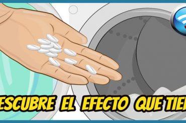 Mete Una Aspirina en la Lavadora y Mira el Efecto que Tiene